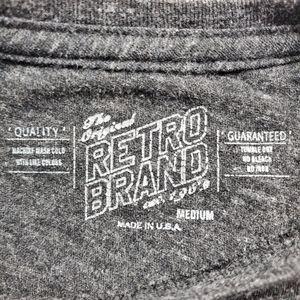 Original Retro Brand Tops - Retro Brand College Tees Virginia Graphic Tee Med